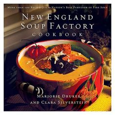 New England Soup Factory Cookbook: More Than 100 Recipes from the Nation's Best Purveyor of Fine Soup for only $16.72 You save: $8.27 (33%)