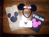 Bear Rabbit Bear Crafts: Minnie Mouse Party Reveal #Artsandcrafts