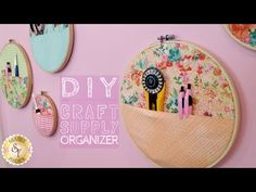 Diy craft supply organizer with jennifer bosworth of shabby fabrics sewing Diy And Crafts Sewing, Crafts To Sell, Diy Crafts, Paper Crafts, Party Poker, Shabby Fabrics, Craft Wedding, Craft Tutorials, Video Tutorials