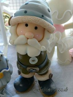 Smurfs, Biscuit, Fictional Characters, Xmas, Paper Mache, Cold, Cold Porcelain, Crackers, Fantasy Characters