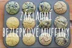 Základní bezlepkové muffiny