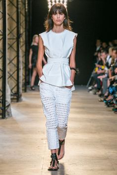 A look from the Isabel Marant Spring 2015 RTW collection.