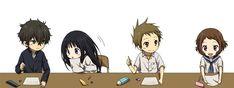Hyouka   Kyoto Animation   Yonezawa Honobu / 「C83 おつかれさまでした!」/「Rito」の漫画 [pixiv] [3]