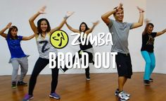 Broad Out | Zumba® Fitness | Live Love Party