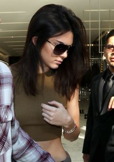 """ 12.23.14: Kendall shopping at Yves Saint Laurent with Scott in Beverly Hills, CA [HQS] """
