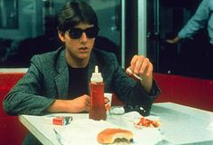Risky Business - Publicity still of Tom Cruise. The image measures 800 * 533 pixels and was added on 1 January 1980s Films, 80s Movies, I Movie, Endless Love Movie, Risky Business 1983, Challenge, Film Stills, Tom Cruise, Vintage Movies