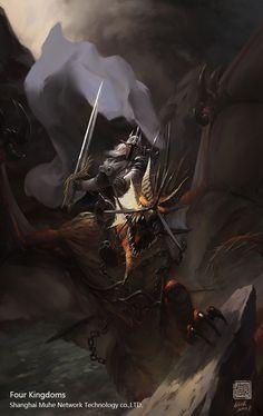 Dark Dragon Knight by 6kart.deviantart.com on @deviantART