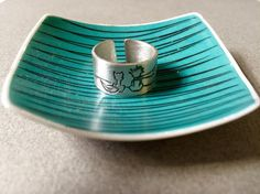 Friendship Silver Ring with the Little Prince  #silverring #thelittleprince #littleprince #friendship #fox #vadjutka
