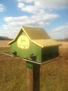 John Deere Bird House