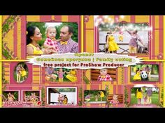 Семейная прогулка | Family outing | Free project for ProShow Producer