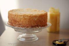 Ciasto biszkoptowe cytrynowe
