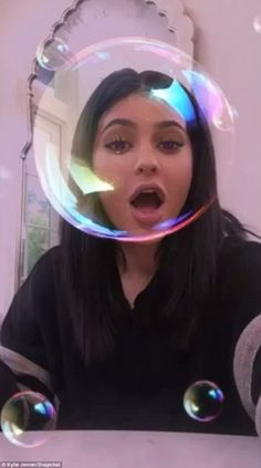 Brainstorming? The youngest of the Kardashian-Jenner clan showed her silly side in a series of videos posted to Snapchat on Tuesday