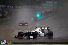 Sergio Perez, Sauber, 2012 Malaysian Formula 1 Grand Prix, Formula 1