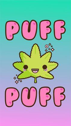 Puff Puff Marijuana Kawaii