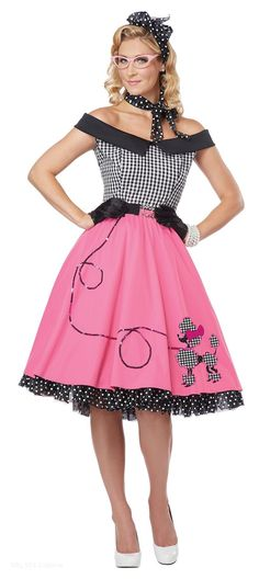 Nifty Fifties https://www.dresscostume.com/decades/50s-costumes.html
