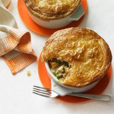 Chicken and Sweet Potato Pot Pies  - Delish.com