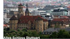 Schlösser und Burgen in Baden-Württemberg - Stuttgart Altes Schloss