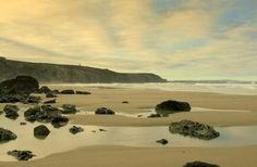 Porthtowan Beach, Cornwall.