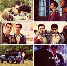 Awww...*tear* -ahh the emotions Teen Wolf Scott and Stiles