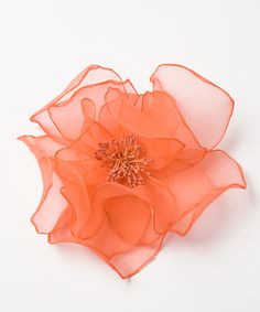 115 Best Organza Flowers Images Fabric Flowers Paper Flowers