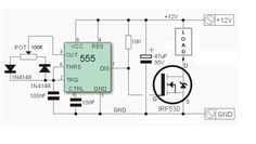 a low cost PWM dimmer using NE555 and MOSFET with DIY aluminium case.
