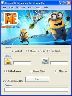 Despicable Me Minion Rush Hack 2016 download iOS, apk.Full Despicable Me Minion Rush Hack download. Download hack and crack for Despicable Me Minion Rush Hack.