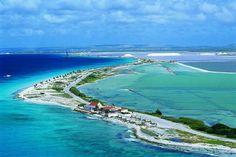 Bonaire, very short flight from Curacao...