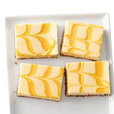 Yummm...  Creamsicle Cheesecake Bars Recipe - Womans Day