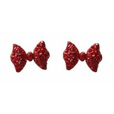 Collectif: Diamant Bow Studs 'DOROTHY'