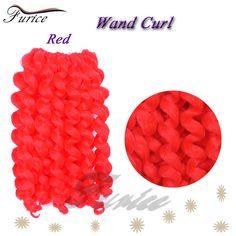 8inch 75g/Pc Jumpy Wand Curl Braiding Crochet Hair Extension Crochet Braids Ombre Jumpy Curly Wand Braiding Bulk Twist Hair