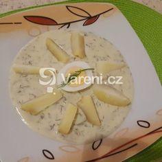 Luxusní koprová omáčka recept - Vareni.cz Camembert Cheese, Dairy, Food, Essen, Meals, Yemek, Eten