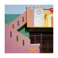 """130 mentions J'aime, 2 commentaires - MAISON PÈRE (@maisonpere) sur Instagram: """"Colourful house in Tiranumavalai, India by Vincent Leroux #maisonpère #colorful #house #india #80's…"""""""
