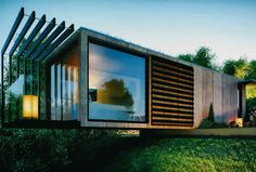 cool shipping container homes ... #ContainerHome #ChippingContainer #Design #ContainerConstruction #Container #20FootContainer #40FootContainer Container Office, Container House Plans, Container Cafe, Container Houses, Shipping Container Homes, Interior Architecture, Container Architecture, Amazing Architecture, Ireland Homes