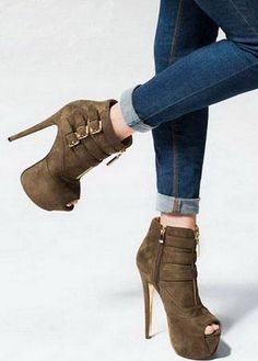 #Sexy Ankle #Boot .  #shoes #heels #fashion