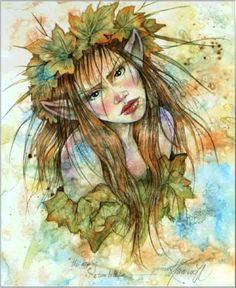 For artist Linda Ravenscroft, capturing the fairy world on paper is nothing less than a calling. Description from ebay.com. I searched for this on bing.com/images