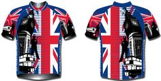 Fly the flag in the olympics - Cycling Jersey: Unisex - British Modern    http://www.sprintdesign.com.au/expat-clothing/flags/brit-flag-mod.html#