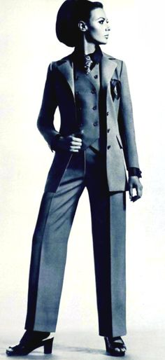 Trouser suit Yves Saint Laurent, 1967