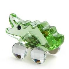 Swarovski Carlos the Crocodile Crystal Alligator figurine