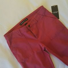 American Living soft Red jeans Cute tapered American Living jeans,  double front& back pockets. american living Jeans Ankle & Cropped