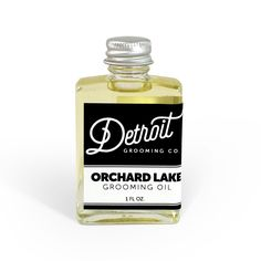 Detroit Grooming Company | Beard Oil - The Orchard Lake