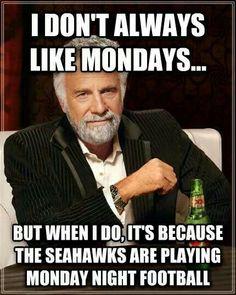 Monday Seahawks