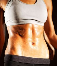 Fast 15 minute workout to shrink your muffin top and firm your obliques. #fitness #exercise