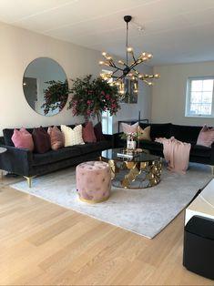 Astha, 3-sits soffa, Velour Dark Grey
