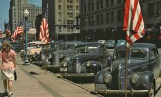 Five Fun Friday Thirties and Forties Kodachrome Images