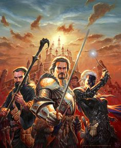 Lords of Waterdeep by RalphHorsley on DeviantArt