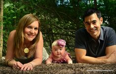 Outdoor family photo session with infant daughter  www.facebook.com/sweetdphotos