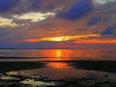 sunset, The Cottage, River John, Nova Scotia, july 19, 2008.