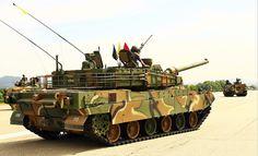 tanque de guerra K2 principal «Black Panther»