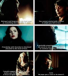 """(gif set) """"Love. He pays you a visit or he doesn't."""" 