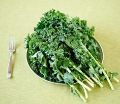 How to de-stem kale and clean leafy greens.